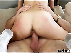 96 lb Small Daddy'_s Girl Sucks and Fucks encircling HD - smallxxxHD.com