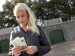 Hot Naughty Czech Girl Suck Cock And Get Fucked For Money In Public 24