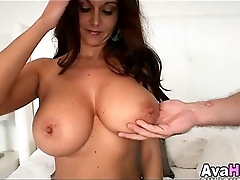 brunette with big tits 11