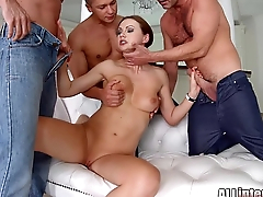Tina Kay anal gangbang creampie on All Internal part 1