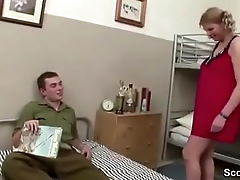 MILF Teacher Seduce Young Boy to Fuck on Klassenfahrt