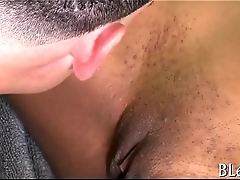 Lots of orgasms for sexy ebony