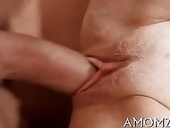 Older goes wicked in a sex game