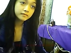 Nepali Girl showing her boobs on cam