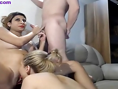 Pregnant wife threesome with boyfriend on camera  - 3videos.com