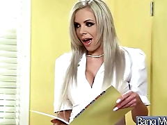 Sexy Hot Patient (tiffany brookes) Get Seduced And Hard Style Bang By Doctor vid-29