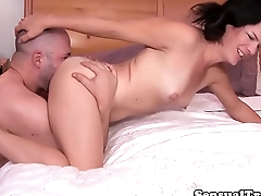 Dreamy Tgirl ass and cock pleasured