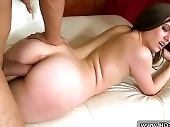 Very rough mouth fuck of blonde slut 07
