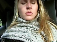 Public Pickup Sexy Euro Girl Obtaining Fucked For Cash Outdoor 30