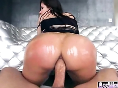Beamy Butt Girl (aleksa nicole) Get Oiled And Hard Deep Anal Nailed vid-02