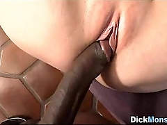 Trying out a big black dick 24