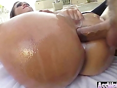 Anal Sex With Oiled All Up Horny Big Butt Girl (kelsi monroe) movie-15