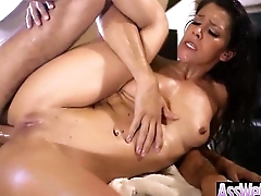 Anal Sex With Oiled In all directions from Up Horny Big Butt Girl (samia duarte) movie-25
