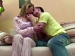 Step-Son Seduce Young Step-Mom to Fuck when Home Alone