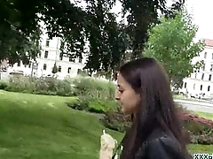 Public Blowjob From Sexy Czech Cosset Be advantageous to Dialect poke 16
