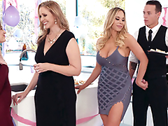 Deity Olivia Austin seduces Julia Ann's stepson behind her back