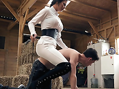 Brazzers HD: Horsing Around Encircling The Stable Boy Jasmine Jae and Jordi El Niño Polla