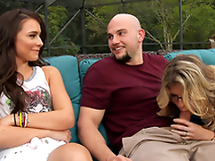 Naked Cory Chase & Kharlie Stone & JMac in My Friend's Hot Mom