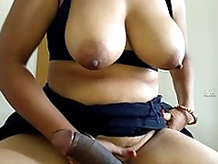 Mom Riding Son Fat Black Cock In Reverse Cowgirl Position
