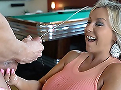 Hot Wife Sucks Off A Boarder Cock Gets Cum Splashed