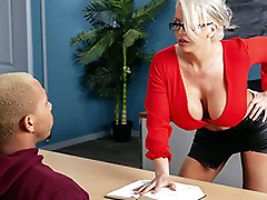 My Prof's Filthy Mouth Starring Alura TNT Jenson and Ricky Johnson