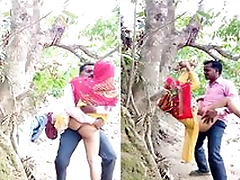 Today Exclusive- Desi Village Lover OutDoor Fucking Part 2