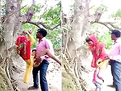 Today Exclusive- Desi Village Lover OutDoor Fucking Part 4