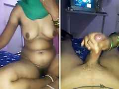 Big Boobs Indian Wife Handjob and Hard drilled