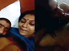 desi couple boobs suck blow job and fuck