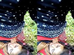 Exclusive- Indian lover Outdoor romance with an increment of Blowjob