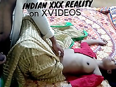 I fucked my friend's hot sister while she is sleeping together with crippling green saree red blouse