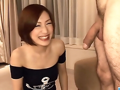 Subtitles - Japanese newborn Nene Iino suck dick
