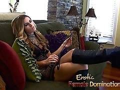 Perfect blonde girl experiences humiliation and pain like never before-6