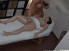 Amazing Teen Fucked in Massage Room