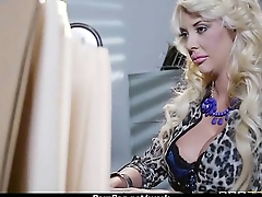 Big-tit latina boss fucks employee'_s hard-dick in office 24