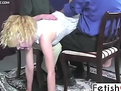 Fetishon - spanking video amazing castigating harsh