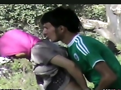 REFUGEES HAVING SEX IN THE FOREST