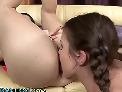 Gaping les ass rimmed
