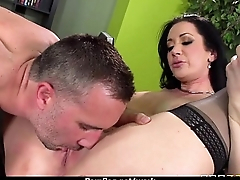 Big Titted Babe Gets Fucked Firm in the Office 1